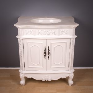French Single Bathroom Cabinet