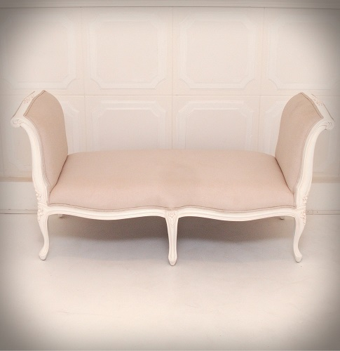 French Bed End Stool