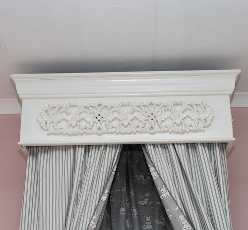 French Curtain Frame