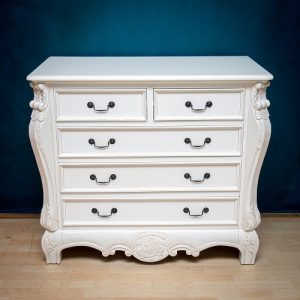 Chest of Drawers - Antique White
