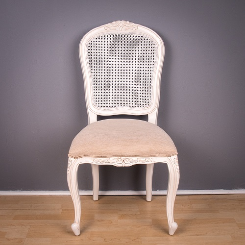 Dining Chair - Rattan Back