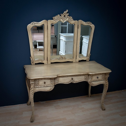 Shabby Putty French Dressing Table