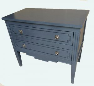 Stormy Blue Nightstand